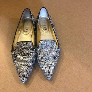 Caiman Leather Flats